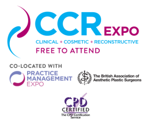 Electiva Hospitals to have stand at CCR Expo - Clinicial, Cosmetic and Reconstructive exhibition in London from 5th - 6th October 2017